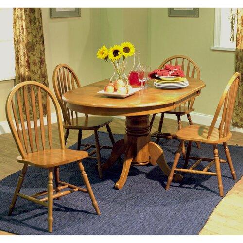 TMS Farmhouse 5 Piece Dining Set & Reviews