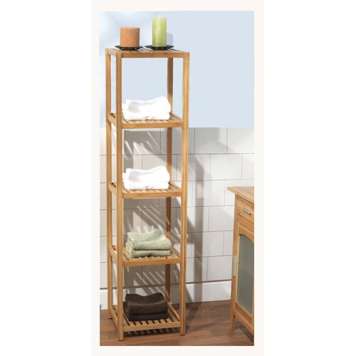 TMS Bamboo 5 Tier Shelf