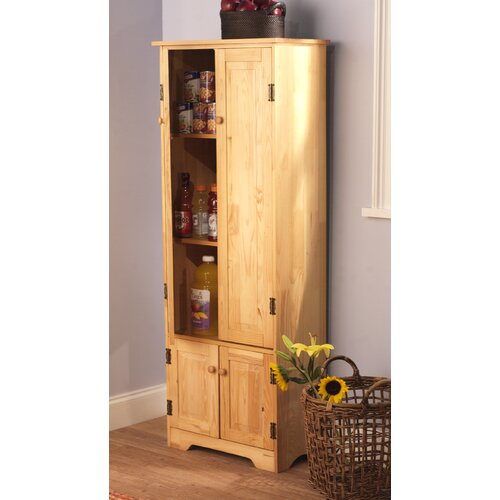 Pine Extra Tall Cabinet
