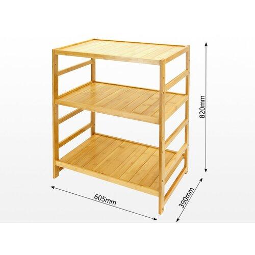 free standing bathroom shelving unit wayfair uk. Black Bedroom Furniture Sets. Home Design Ideas