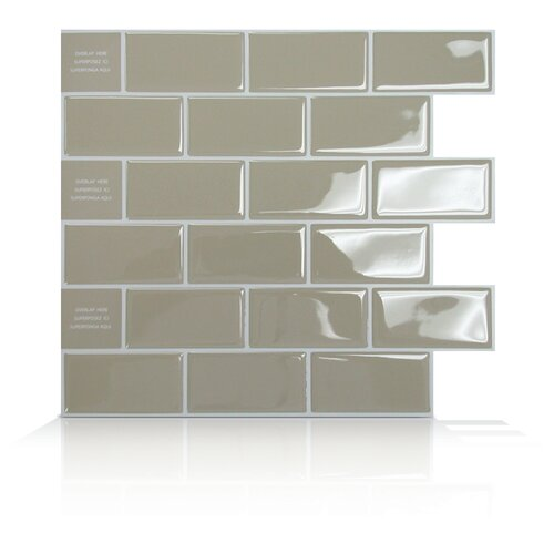Mosaik Self Adhesive Wall Tile in Subway
