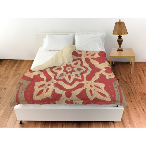 Golden Medallion Duvet Cover