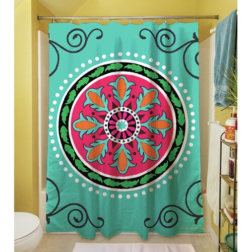 Thumbprintz Boho Medallion Square Shower Curtain Reviews
