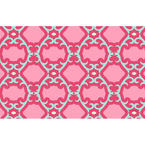Francie Trellis Pink Rug