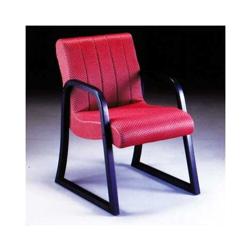 High Point Furniture Scoop Guest Arm Chair with Channel Style Back