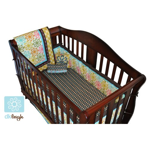 DK Leigh Vintage Floral 10 Piece Boutique Crib Bedding Set