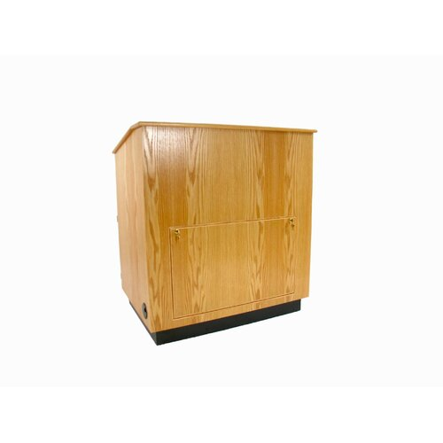 Executive Wood Products Educator Multimedia Full Podium