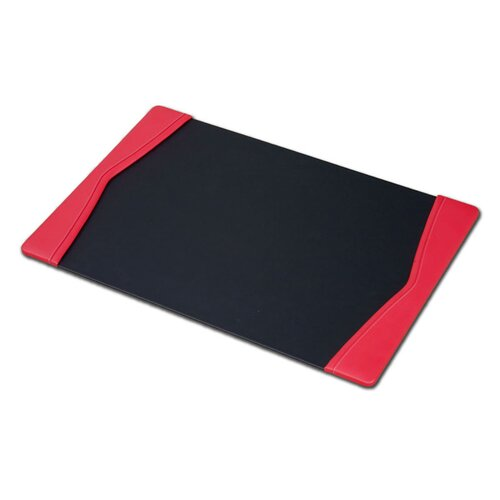 "Dacasso Leather 34"" x 20"" Side-Rail Desk Pad"