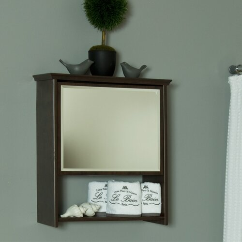 Cabinet with Mirror and 3 Shelves