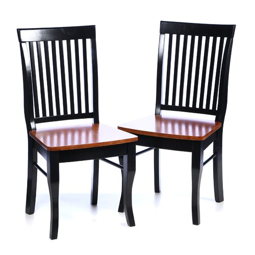 764 Series Slat Back Side Chair (Set of 2)