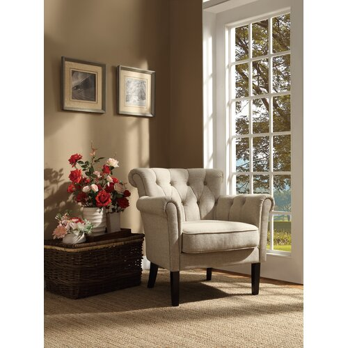 Woodbridge Home Designs Barlowe Arm Chair Reviews Wayfair