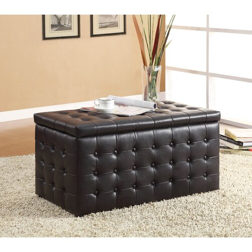 Woodbridge Home Designs 4720 Series Bench with 2 Cube Ottoman