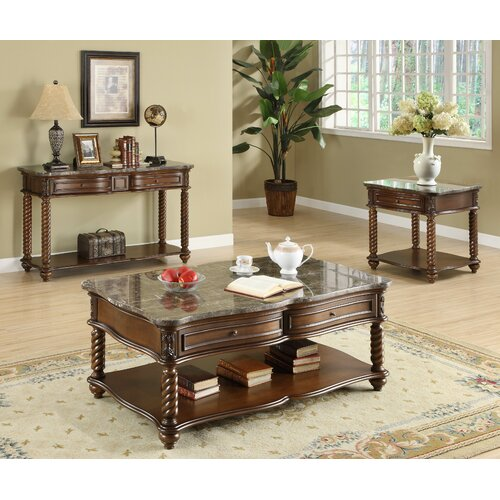 Woodbridge Home Designs Lockwood Coffee Table Reviews
