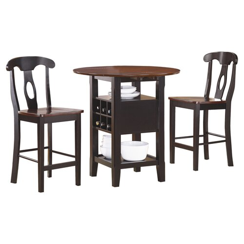 Woodbridge Home Designs Atwood 3 Piece Counter Height