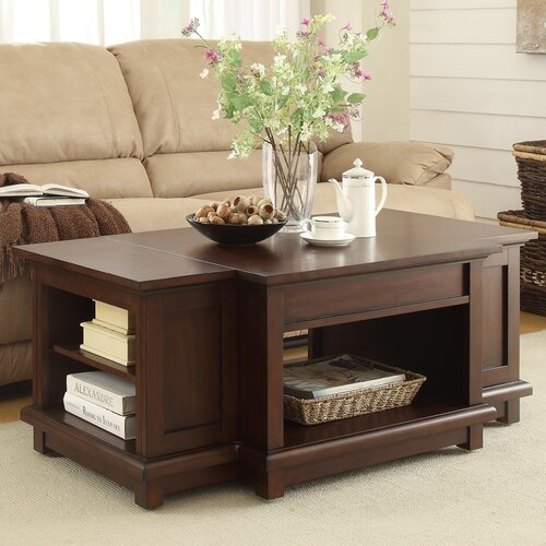 Woodbridge home designs bellamy coffee table with lift top - Woodbridge home designs avalon coffee table ...