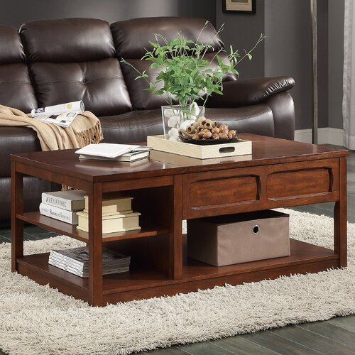 Booker coffee table with lift top wayfair - Woodbridge home designs avalon coffee table ...
