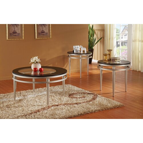 Woodbridge Home Designs Hodges 3 Piece Coffee Table Set