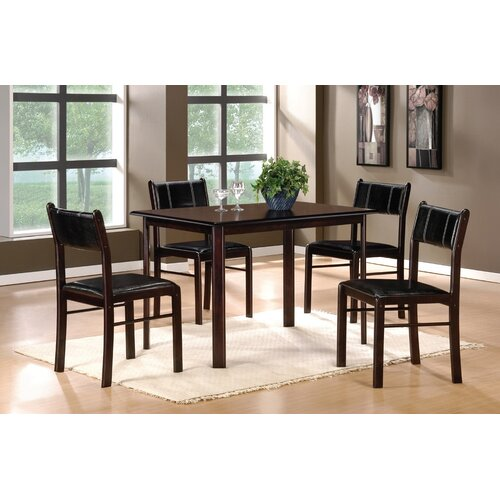 Woodbridge Home Designs 5446 Series 5 Piece Dining Set