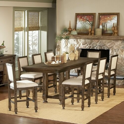 Rustic Counter Height Table Wayfair : Woodbridge Home Designs 893 Series Counter Height Dining Table from www.wayfair.com size 500 x 500 jpeg 97kB