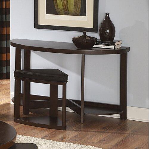 Woodbridge Home Designs Brusel II Console Table with Ottoman