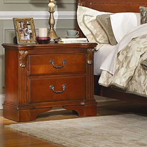 Woodbridge Home Designs Legacy 2 Drawer Nightstand
