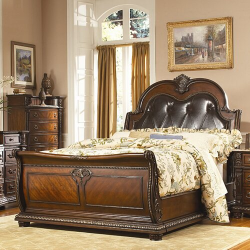 Palace Sleigh Bed