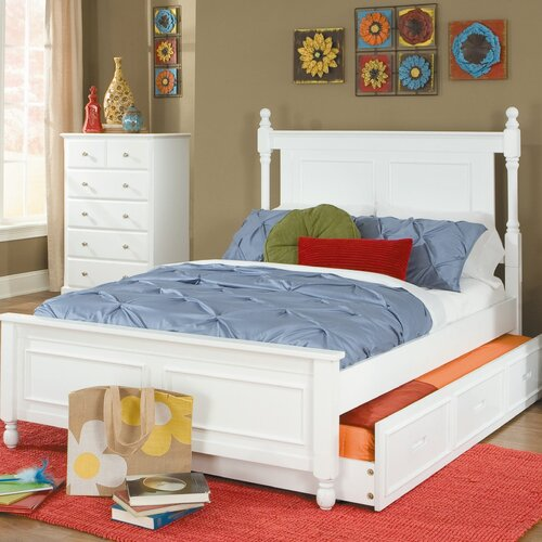 Woodbridge Home Designs Morelle Captain's Bed with Trundle