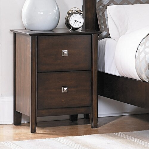 Woodbridge Home Designs Cody 2 Drawer Nightstand