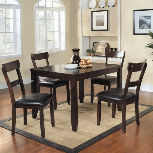 Woodbridge Home Designs Oklahoma 5 Piece Dining Set