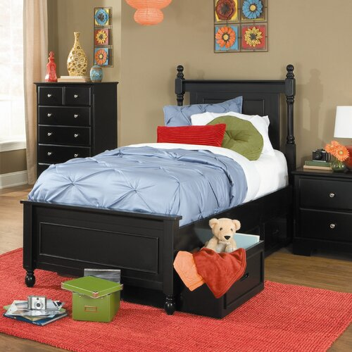 Woodbridge Home Designs Morelle Captain's Bed with Storage Drawers