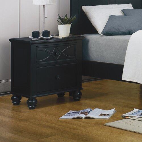 Woodbridge Home Designs  Sanibel 2 Drawer Nightstand