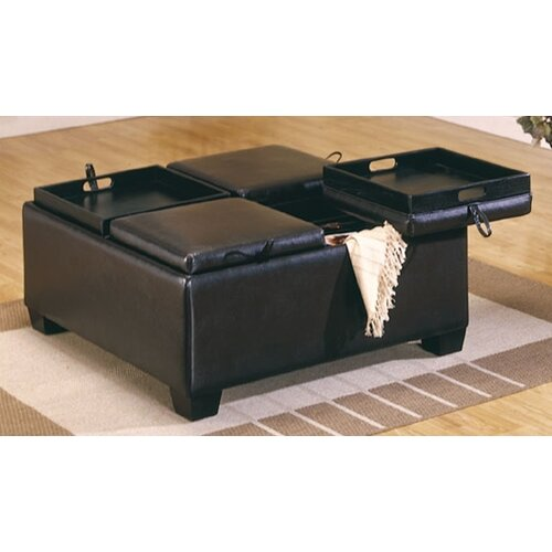 Woodbridge Home Designs Beckett Cocktail Ottoman