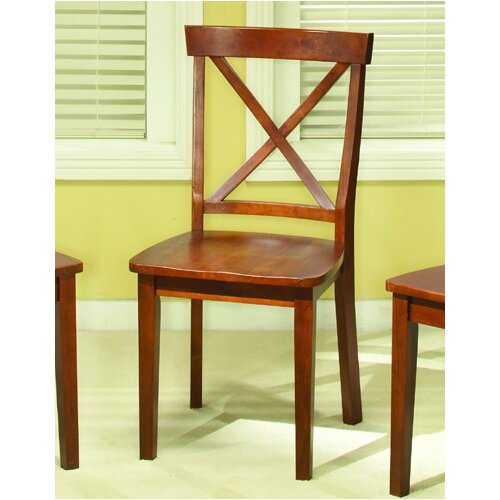 Woodbridge Home Designs 5335 Series X-Back Side Chair