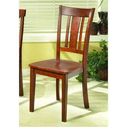 Woodbridge Home Designs 5335 Series Slat Back Side Chair