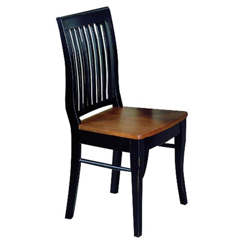 Woodbridge Home Designs 764 Series Slat Back Side Chair
