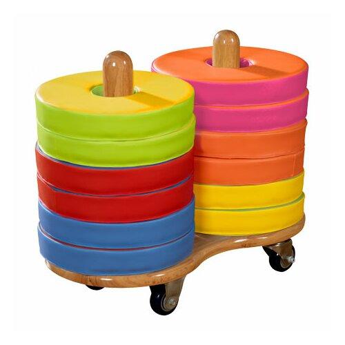 Donut Kids Seat Cart (Set of 12)