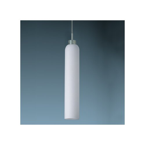 Shou 1 Light Candle Down Monopoint Mini Pendant