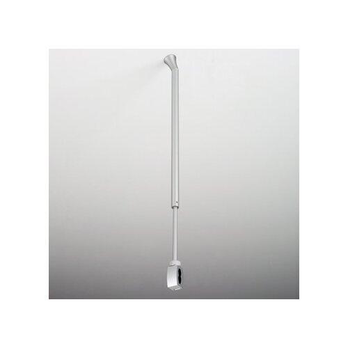 Bruck Lighting Zonyx Height Adjustable Slanted Ceiling Support in Matte Chrome