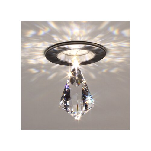 Bruck Lighting Diamond Kite Crystal in Clear