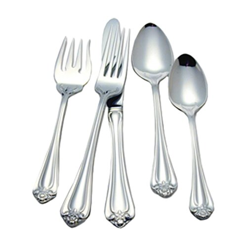 Roseland 5 Piece Flatware Set