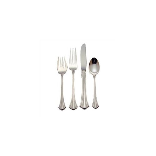 18th Century 4 Piece Large Size Flatware Set