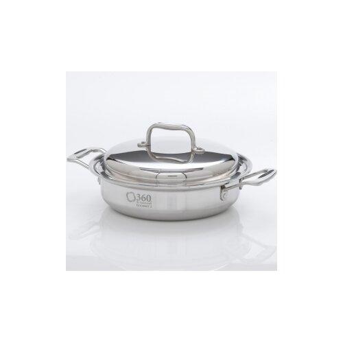 2.3-qt. Stainless Steel Round Casserole