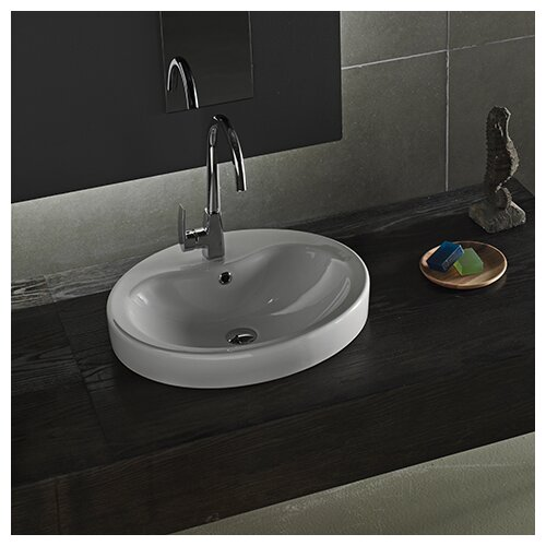 Suit Round Ceramic Bathroom Sink