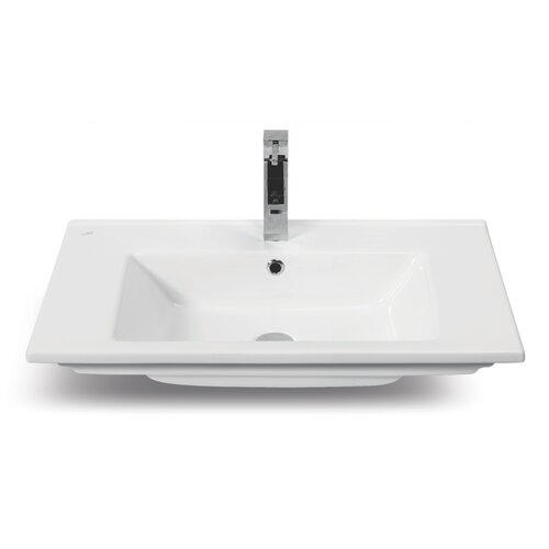 CeraStyle by Nameeks Arte Rectangle Ceramic Self Rimming Bathroom Sink