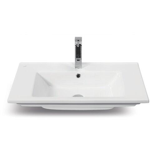 CeraStyle by Nameeks Arte Rectangle Ceramic Self Rimming Bathroom Sink