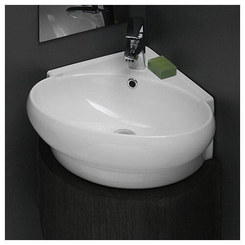 Mini Corner Ceramic Bathroom Sink