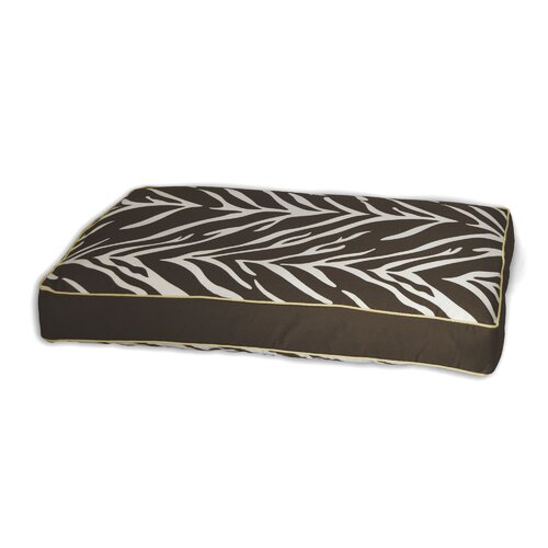 Zebra Memory Foam Topper Dog Pillow Bed