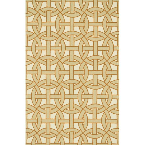 Palm Springs Beige/Orange Indoor/Outdoor Rug