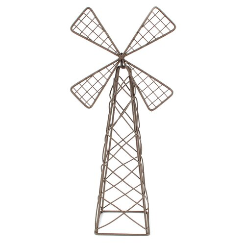 Small Fairy Garden Windmill Figurine