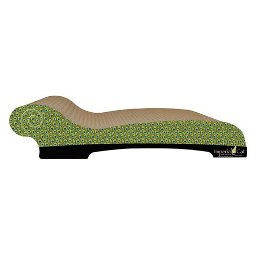 Large Chaise Lounge Recycles Paper Cat Scratching Board